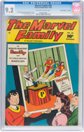 "Golden Age (1938-1955):Superhero, The Marvel Family #30 Davis Crippen (""D"" Copy) Pedigree (FawcettPublications, 1948) CGC NM- 9.2 Off-white to white pages...."