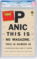 Golden Age (1938-1955):Humor, Panic #8 Gaines File Pedigree 5/12 (EC, 1955) CGC NM+ 9.6 White pages....