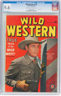 Wild Western #10 (Atlas, 1950) CGC NM+ 9.6 Off-white to white pages