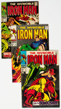 Silver Age (1956-1969):Superhero, Iron Man Group (Marvel, 1968-71) Condition: Average FN.... (Total:30 Items)