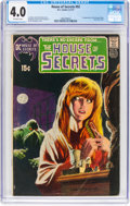 Bronze Age (1970-1979):Horror, House of Secrets #92 (DC, 1971) CGC VG 4.0 Off-white pages....