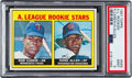 Baseball Cards:Singles (1960-1969), 1967 Topps A. L. Rookies - Rod Carew #569 PSA Mint 9 - Only One Higher. ...