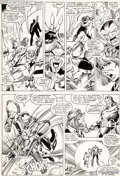 Original Comic Art:Panel Pages, Walter Simonson and Bob Wiacek X-Factor #10 Story Page 18 Original Art (Marvel, 1986)....