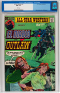 Bronze Age (1970-1979):Western, All-Star Western #3 (DC, 1971) CGC NM+ 9.6 White pages....