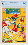Silver Age (1956-1969):Superhero, Adventure Comics #364 (DC, 1968) CBCS NM- 9.2 White pages....