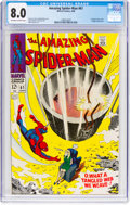 Silver Age (1956-1969):Superhero, The Amazing Spider-Man #61 (Marvel, 1968) CGC VF 8.0 Off-white to white pages....
