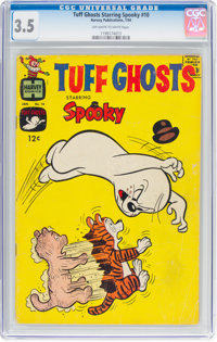 Tuff Ghosts Starring Spooky #10 (Harvey, 1964) CGC VG- 3.5 Off-white to white pages