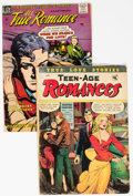 Golden Age (1938-1955):Romance, Golden Age Romance Group of 2 (Various Publishers, 1949-54)Condition: Average GD.... (Total: 2 Comic Books)