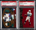 Football Cards:Lots, 1996 Pacific Crown Royale & SP Marvin Harrison PSA Gem Mint 10 Graded Pair (2)....