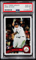 Baseball Cards:Singles (1970-Now), 2011 Topps Update Jose Altuve #US132 PSA Gem Mint 10....