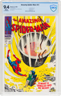 Silver Age (1956-1969):Superhero, The Amazing Spider-Man #61 (Marvel, 1968) CBCS NM 9.4 White pages....