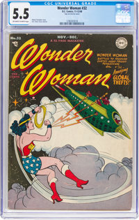 Wonder Woman #32 (DC, 1948) CGC FN- 5.5 Off-white to white pages
