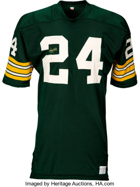 1967-68 Willie Wood Game Worn Green Bay Packers Jersey.... Football ... a6bd305cd