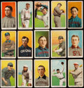 Baseball Cards:Lots, 1909-11 T206 Sweet Caporal Collection (15). ...