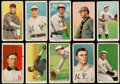 Baseball Cards:Lots, 1909-11 T206 Sweet Caporal Collection (10) With HoFer. ...