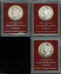 Additional Certified Coins: , 1880-S S$1 Morgan Dollar MS65 Paramount International (MS63),... (3 coins)