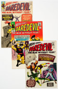Silver Age (1956-1969):Superhero, Daredevil Group of 8 (Marvel, 1964-67) Condition: Average VG+....(Total: 8 Items)