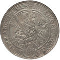 German States:Saxony, German States: Saxony. Johann Georg I & August Taler 1614 MS61 NGC,...