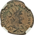 Ancients:Roman Imperial, Ancients: Vabalathus (usurper, AD 270-272). BI antoninianus (20mm,3.03 gm, 11h). NGC VF 5/5 - 3/5....