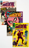 Silver Age (1956-1969):Superhero, Daredevil #9, 17, and 27 Group (Marvel, 1965-67) Condition: AverageVF.... (Total: 3 Items)