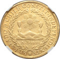 Chile, Chile: Republic gold 8 Escudos 1833 So-I AU50 NGC,...