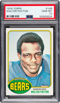 Football Cards:Singles (1970-Now), 1976 Topps Walter Payton #148 PSA Gem Mint 10....