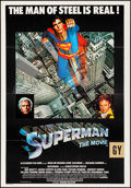 """Movie Posters:Action, Superman the Movie (Warner Brothers, 1978) Folded, Very Fine-. International One Sheet (27"""" X 40""""). Action...."""
