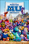 "Movie Posters:Animation, Monsters University & Other Lot (Buena Vista, 2013) Rolled, Very Fine+. One Sheets (2) (26.75"" X 39.75"" & 27"" X 40"") & TV Po... (Total: 2 Items)"