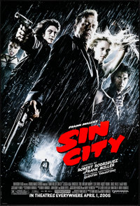 """Sin City & Others Lot (Dimension, 2005) Rolled, Very Fine+. One Sheets (3) (27"""" X 40"""" & 27"""" X 41&..."""