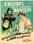 Movie Posters:Miscellaneous, Bill Jones Motivational Lot (Parker-Holladay, 1928). Very ...