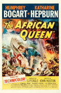 Movie Posters:Adventure, The African Queen (United Artists, 1952). Fine/Very Fine o...