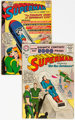 Superman #107 and 146 Group (DC, 1956-61) Condition: Average VG-.... (Total: 2 Comic Books)