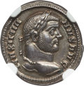 Ancients:Roman Imperial, Ancients: Maximian, First Reign (AD 286-310). AR argenteus (18mm,3.39 gm, 7h). NGC MS★ 5/5 - 5/5....