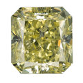 Estate Jewelry:Unmounted Diamonds, Unmounted Fancy Yellow Diamond. ...