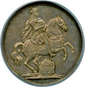 German States:Saxony, German States: Saxony. Friedrich August I Vicariat Taler MDCCXI (1711)-ILH MS61 NGC,...