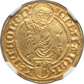 German States:Cologne, German States: Cologne. Hermann IV von Hessen (1480-1508) Goldgulden ND (1481) AU55 NGC, ...