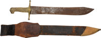 Sword Attributed to Pierre Maspero Complete with Reinforced Leather Scabbard