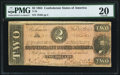 Confederate Notes:1864 Issues, T70 $2 1864 PF-1 Cr. 569 PMG Very Fine 20.. ...