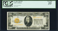 Small Size:Gold Certificates, Fr. 2402 $20 1928 Gold Certificate. PCGS Very Fine 35.. ...