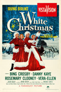 Movie Posters:Musical, White Christmas (Paramount, 1954). Very Fine- on Linen.