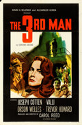 "Movie Posters:Film Noir, The Third Man (Selznick, 1949).Folded, Very Fine-. One Sheet (27"" X41"").. ..."