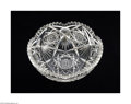 Art Glass:Other , AN AMERICAN BRILLIANT CUT GLASS BOWL...