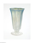 Art Glass:Tiffany , AN AMERICAN OPALESCENT ART GLASS PARFAIT...