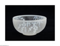 Art Glass:Webb, AN ENGLISH OVERLAID AND ETCHED GLASS BOWL...