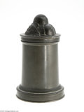 Decorative Arts, English:Other , A BRITISH PEWTER ICE CREAM MOLD... (3 Items)