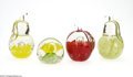 Art Glass:Other , FOUR AMERICAN GLASS PAPERWEIGHTS... (4 Items)