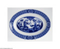 Ceramics & Porcelain, British:Modern  (1900 1949)  , AN ENGLISH IRONSTONE PLATTER...