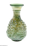 Art Glass:Other , AN AMERICAN IMPERIAL 'GRAPE' CARNIVAL GLASS CARAFE...