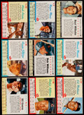 Autographs:Bats, 1961-63 Post Cereal Baseball Collection (163)....