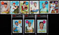 Baseball Cards:Sets, 1969 Topps Baseball Near Set (656/664) With Extras. ...